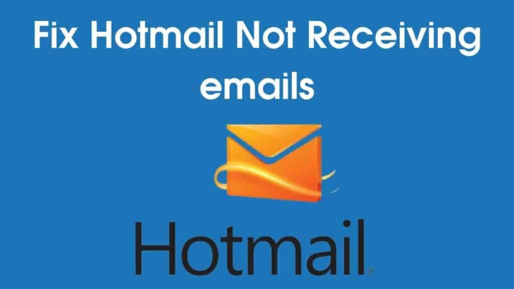 Hotmail Stop Working